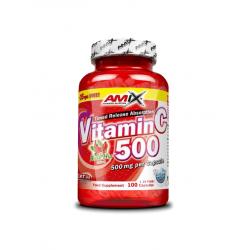 Vitamín C 500 mg + Rose...