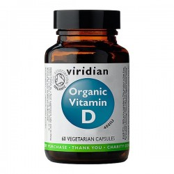 Organic Vitamin D 60 kaps –...